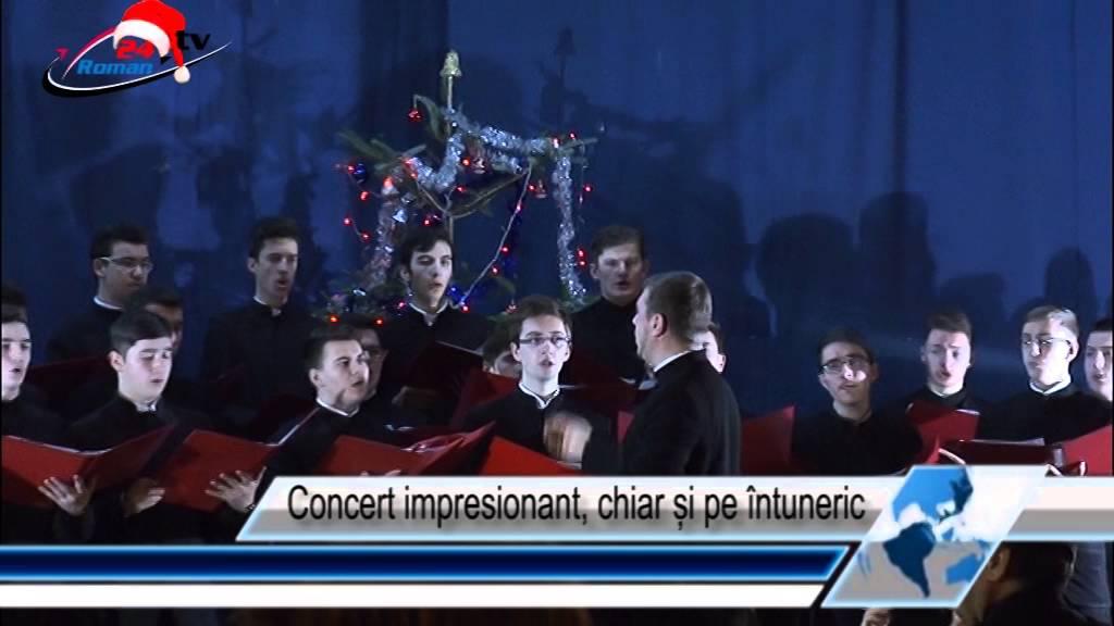 Concert impresionant, chiar și pe întuneric