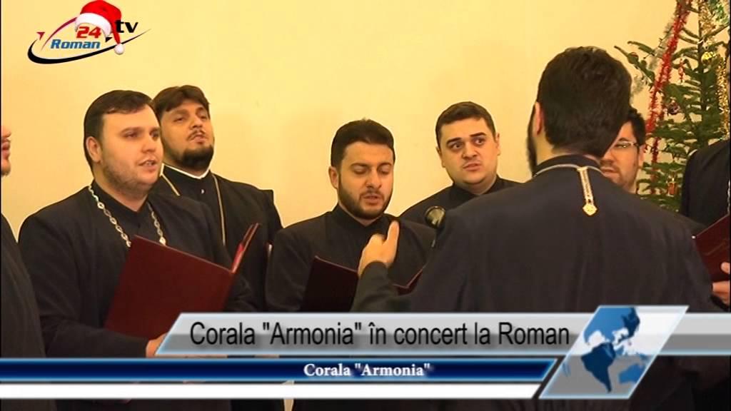 Corala Armonia în concert la Roman