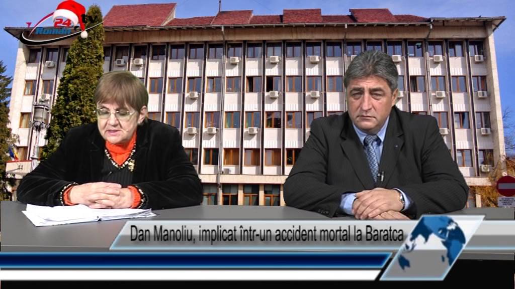 Dan Manoliu, implicat într-un accident mortal la Baratca