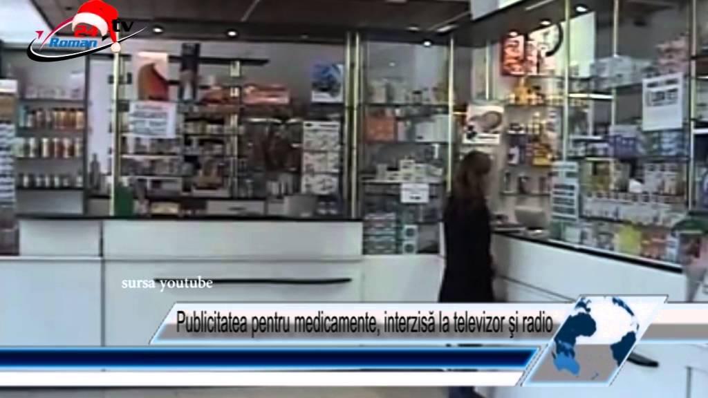Publicitatea pentru medicamente, interzisă la televizor şi radio