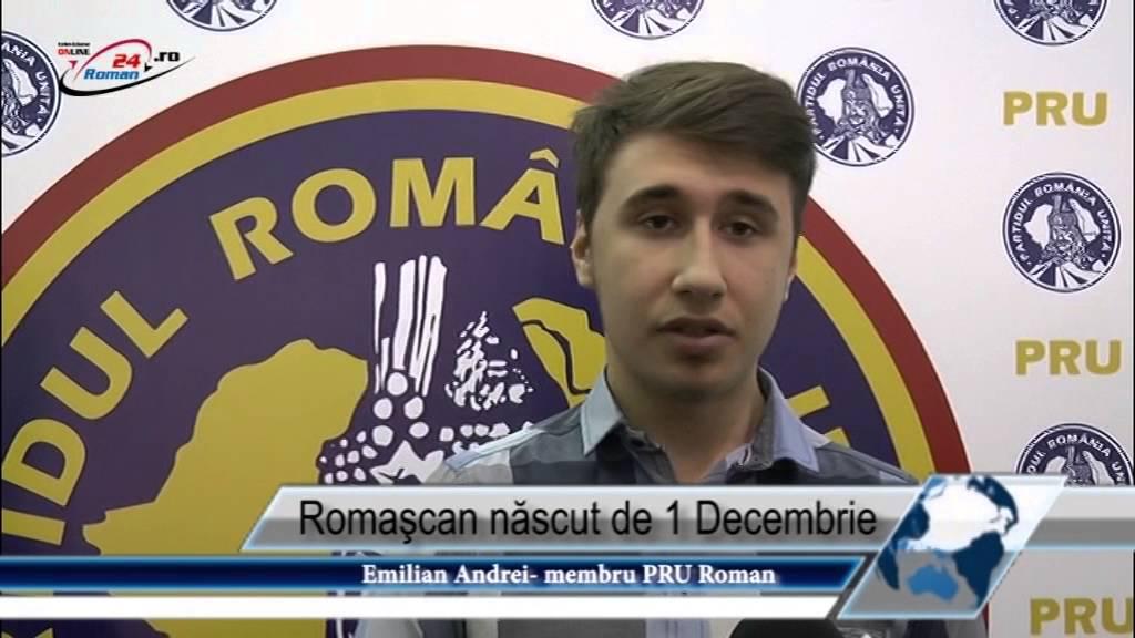 Romaşcan născut de 1 Decembrie