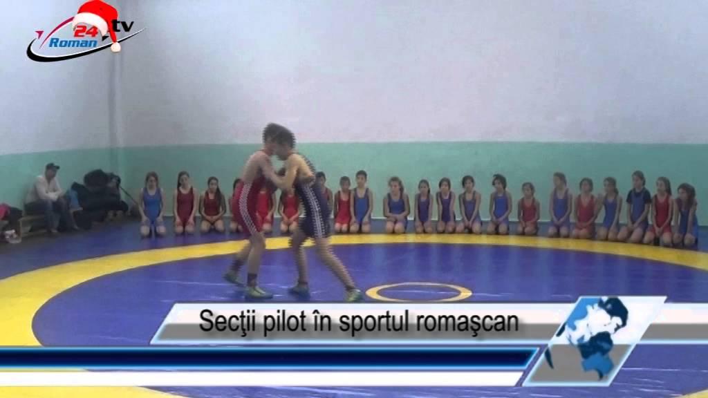 Secţii pilot în sportul romaşcan