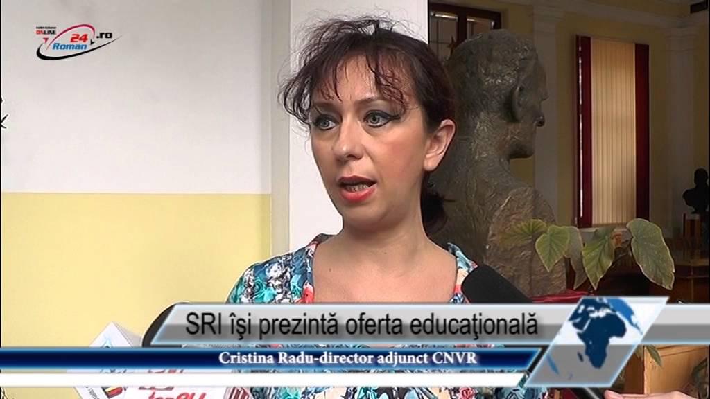 SRI îşi prezintă oferta educaţională