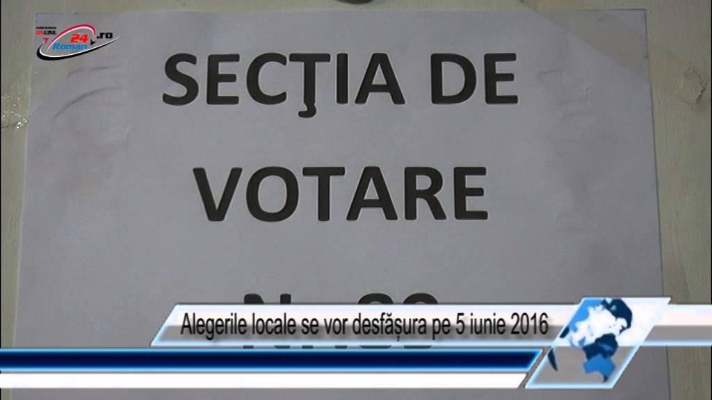 Alegerile locale se vor desfășura pe 5 iunie 2016