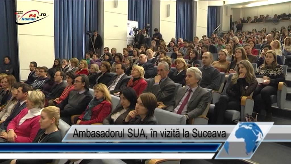 Ambasadorul SUA, în vizită în Suceava