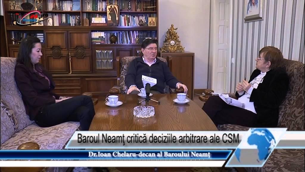 Baroul Neamţ critică deciziile arbitrare ale CSM