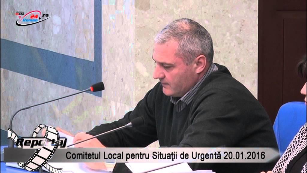 Comitetul Local pentru Situatii de Urgenta 20.01.2016