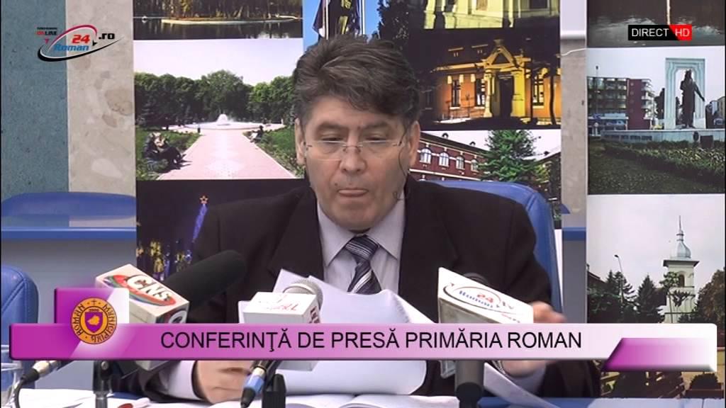 Conferinta de presa Primaria Roman – 11.01.2016