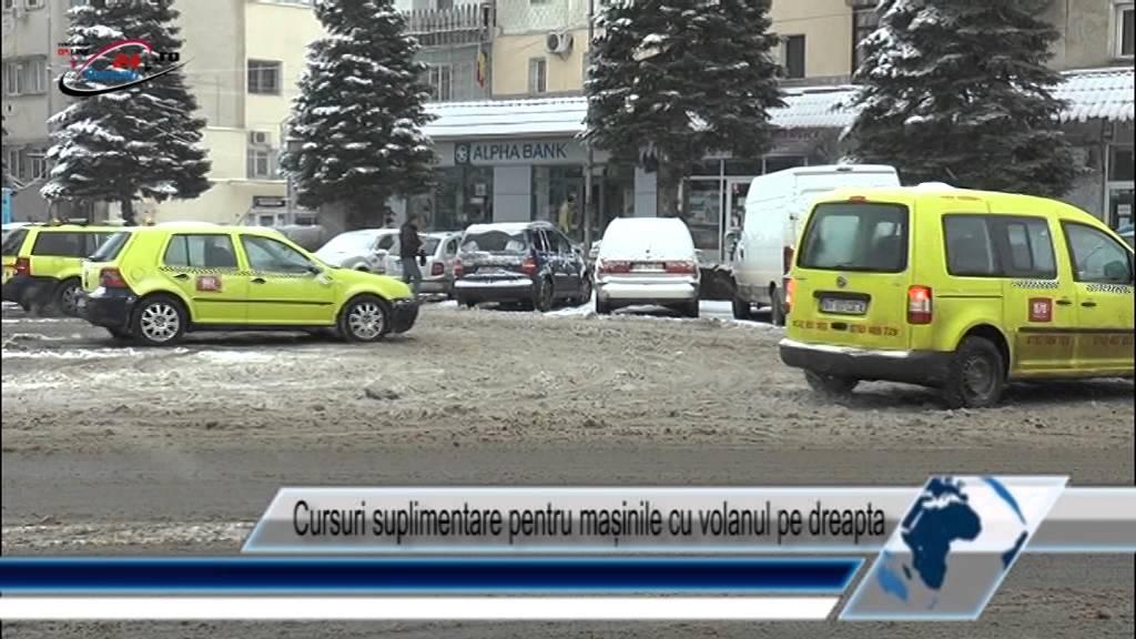 Cursuri suplimentare pentru mașinile cu volanul pe dreapta