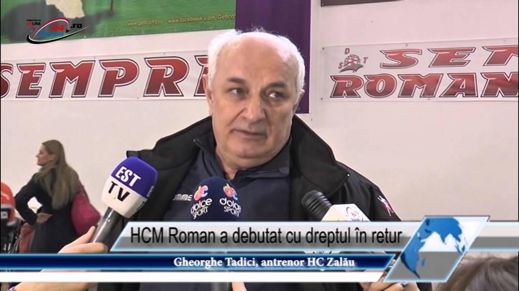 HCM Roman a debutat cu dreptul în retur