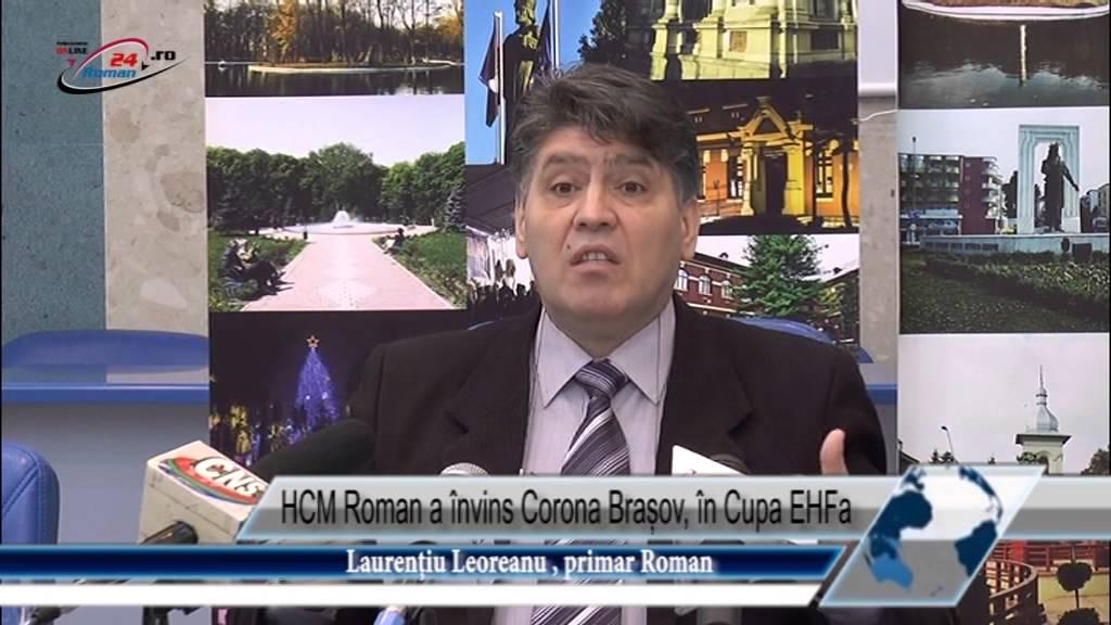 HCM Roman a învins Corona Brașov, în Cupa EHF