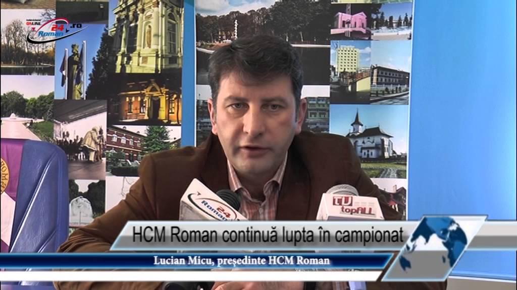 HCM Roman continuă lupta în campionat