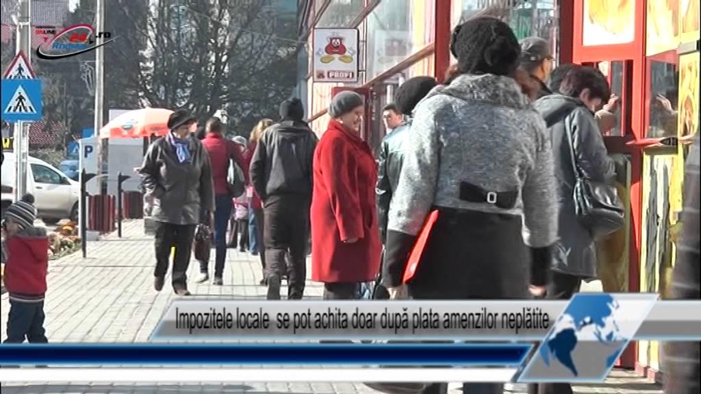 Impozitele locale se pot achita doar după plata amenzilor neplătite