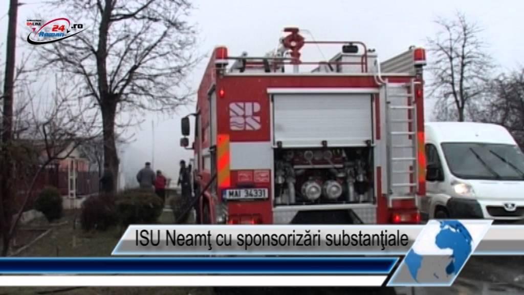 ISU Neamţ cu sponsorizări substanţiale