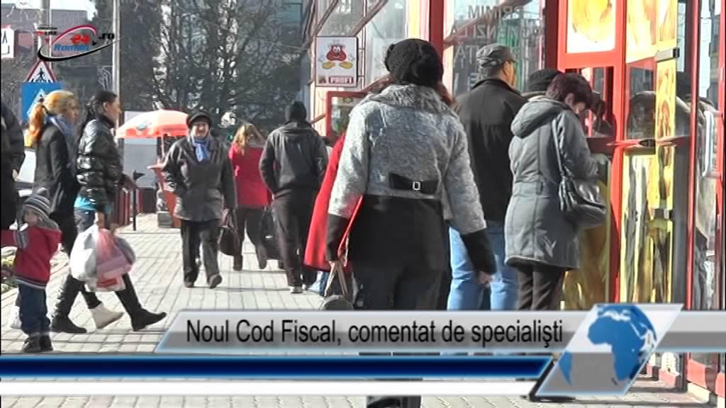 Noul Cod Fiscal, comentat de specialişti