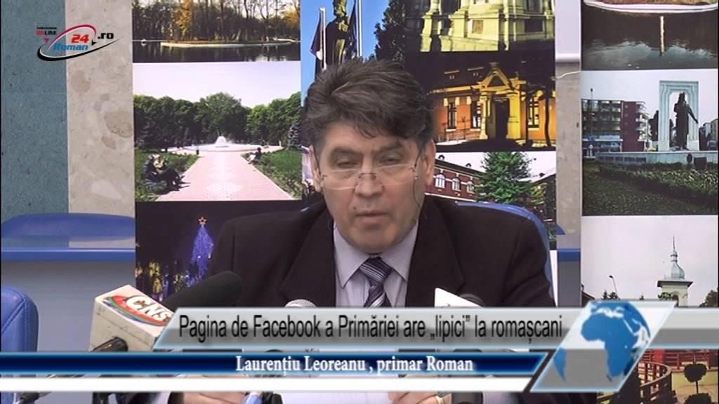 Pagina de Facebook a Primăriei are lipici la romașcani