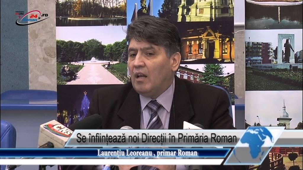 Se înființează noi Direcții în Primăria Roman