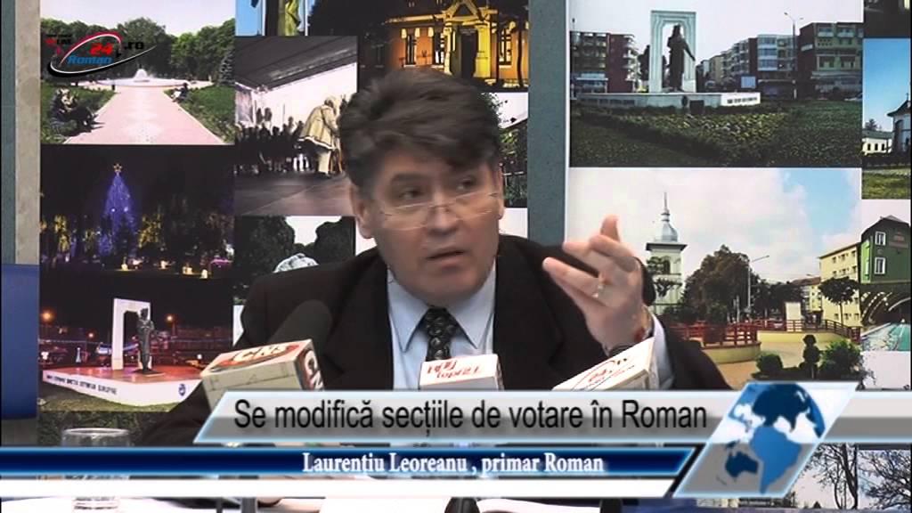 Se modifică secțiile de votare în Roman