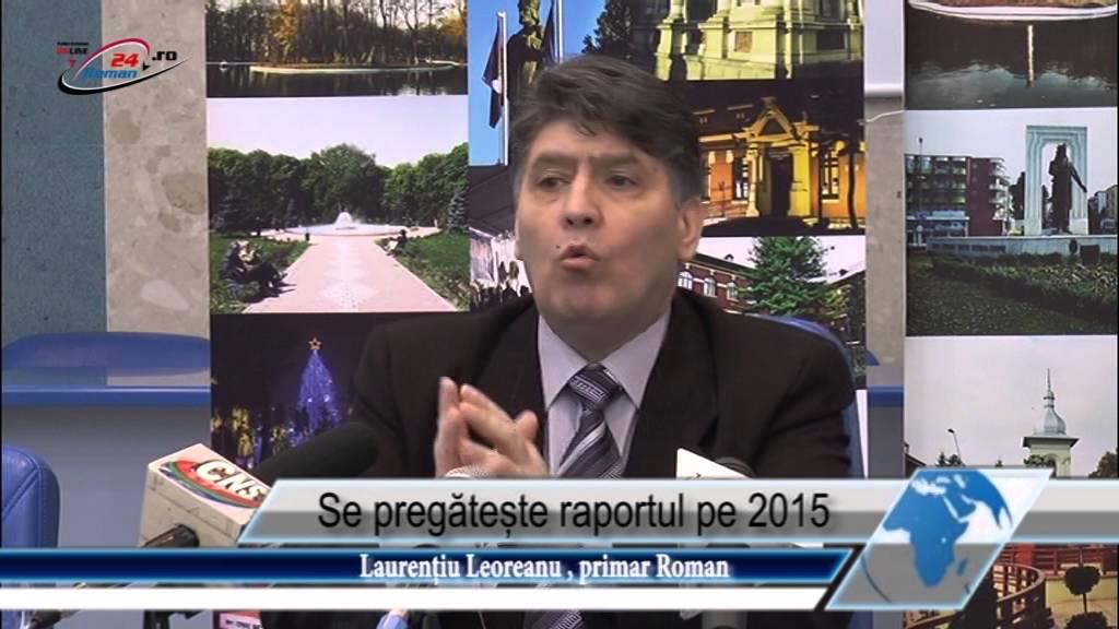 Se pregătește raportul pe 2015