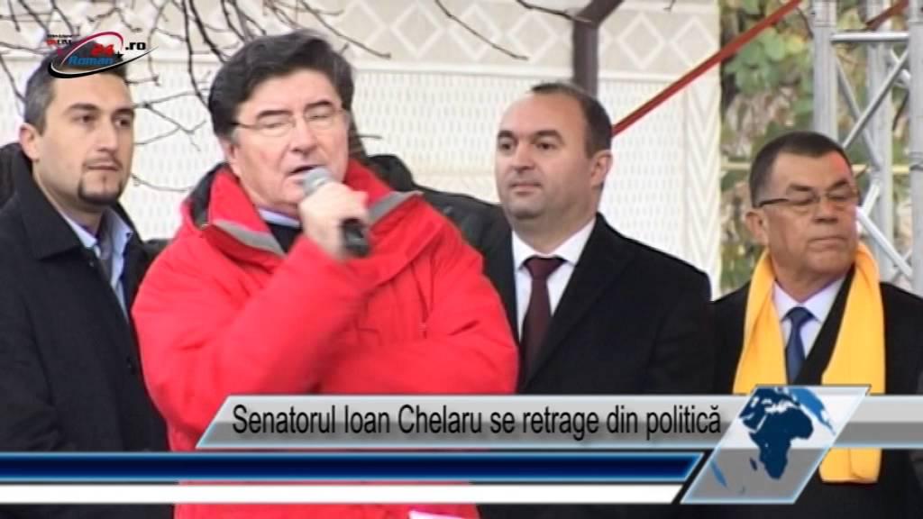 Senatorul Ioan Chelaru se retrage din politică