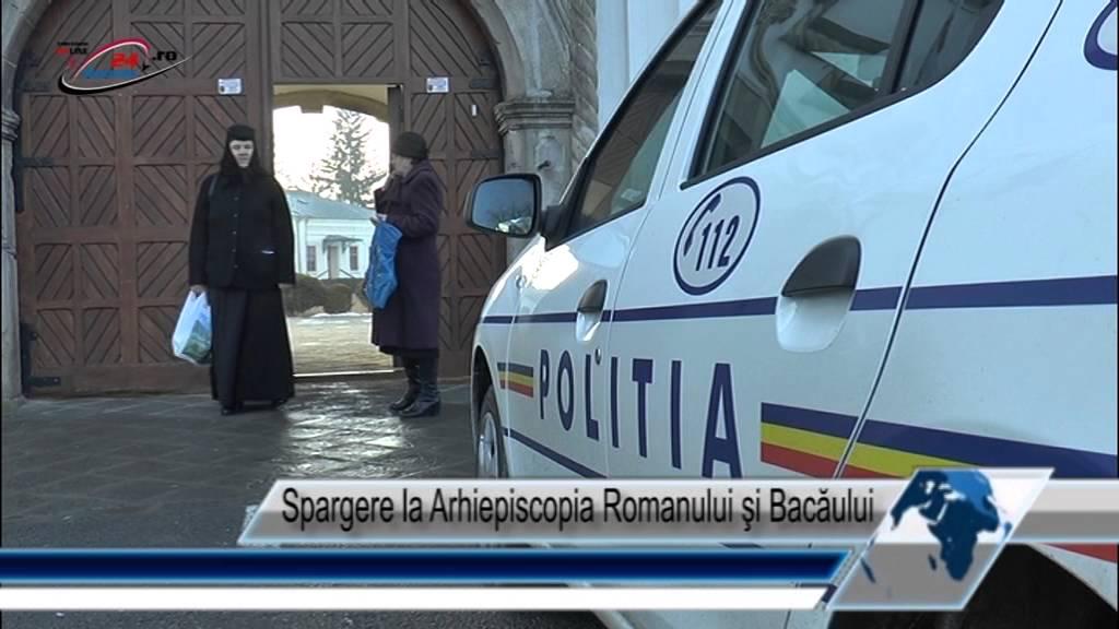 Spargere la Arhiepiscopia Romanului şi Bacăului