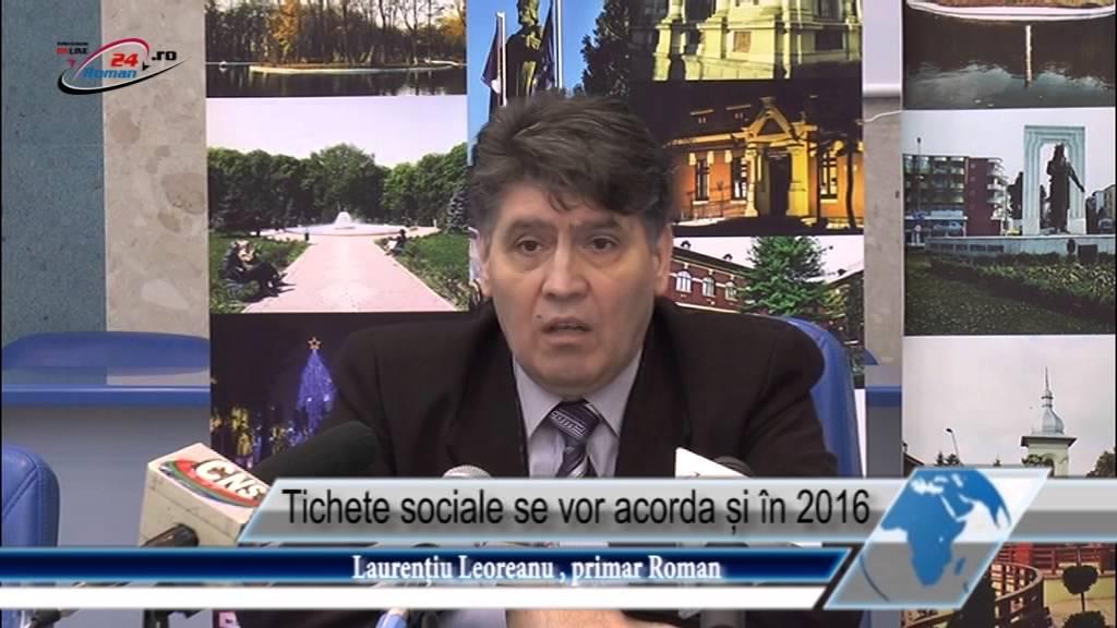 Tichete sociale se vor acorda și în 2016