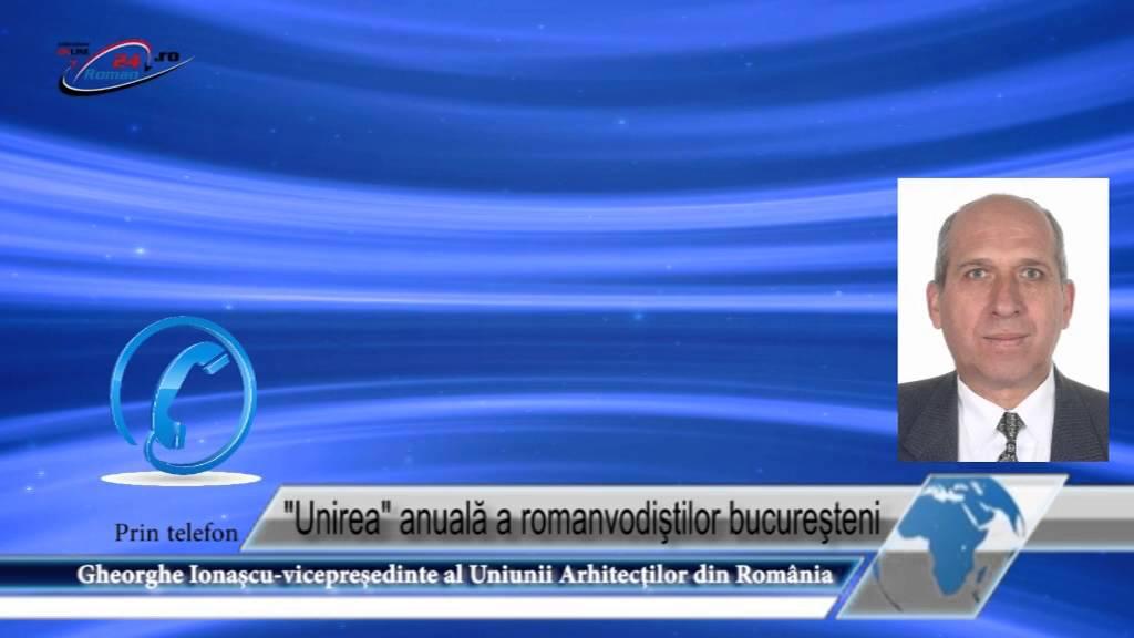 Unirea anuală a romanvodiştilor bucureşteni