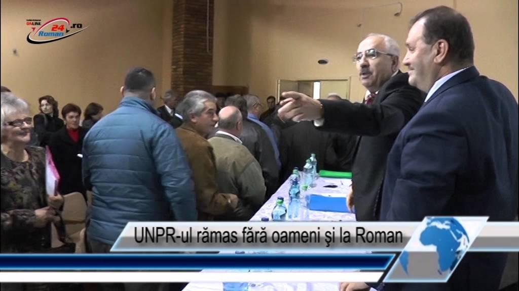 UNPR‐ul rămas fără oameni şi la Roman