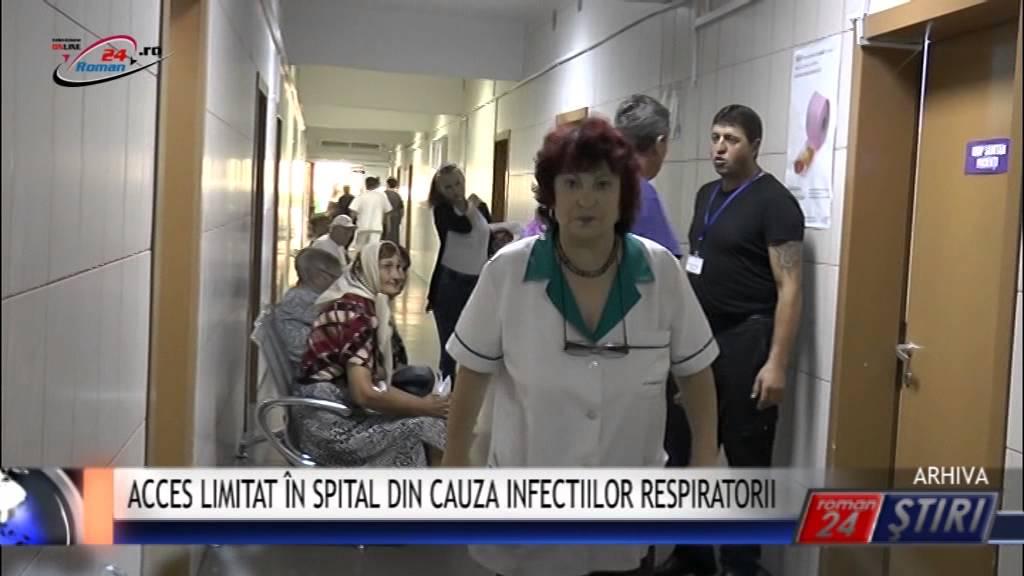 ACCES LIMITAT ÎN SPITAL DIN CAUZA INFECTIILOR RESPIRATORII