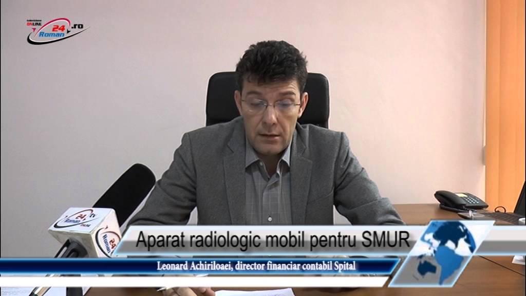 Aparat radiologic mobil pentru SMUR