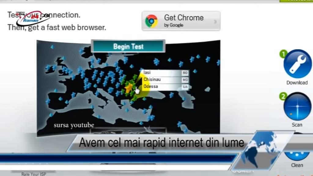 Avem cel mai rapid internet din lume