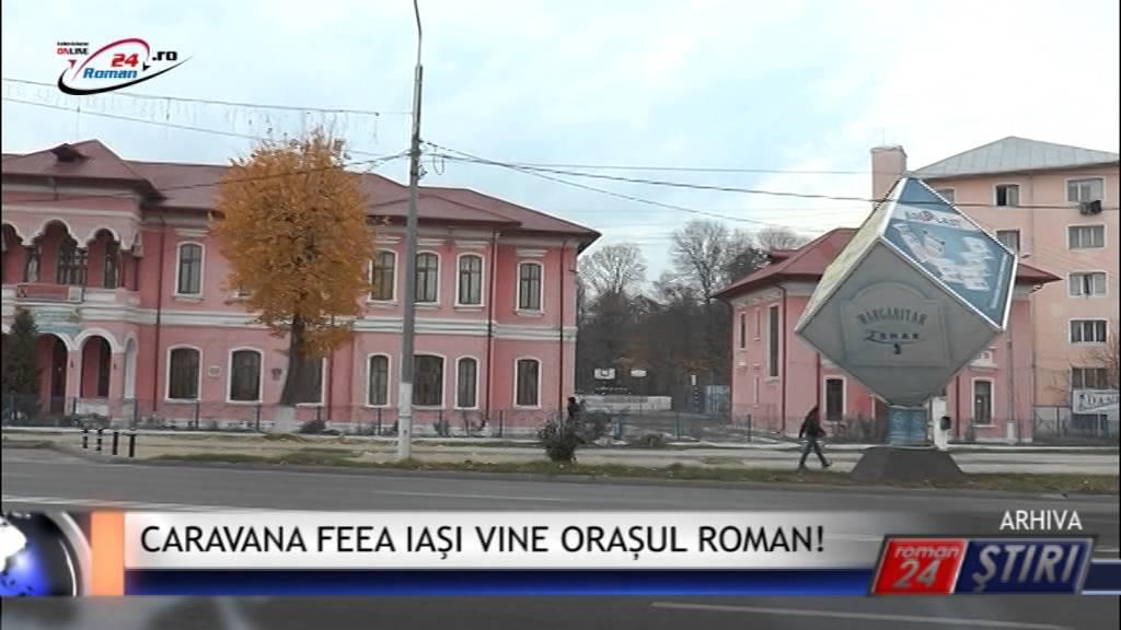 CARAVANA FEEA IAŞI VINE IN ORAȘUL ROMAN!