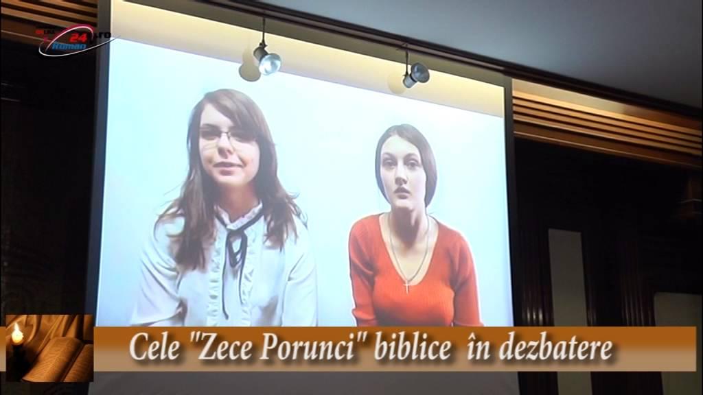 Cele Zece Porunci biblice în dezbatere