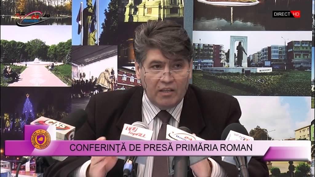 Conferinţă de presă Primaria Roman – 15.02.2016