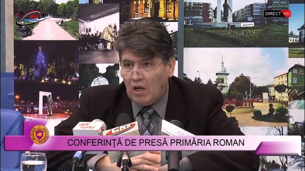 Conferinţă de presă primăria Roman – 1.02.2016