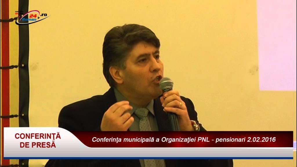 Conferinţa municipală a Organizaţiei PNL-pensionari 2.02.2016
