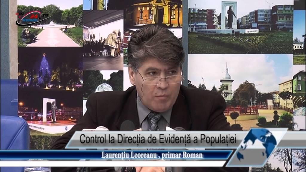 Control la Direcția de Evidență a Populației