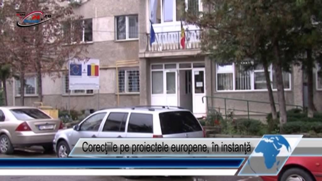 Corecţiile pe proiectele europene  în instanţă