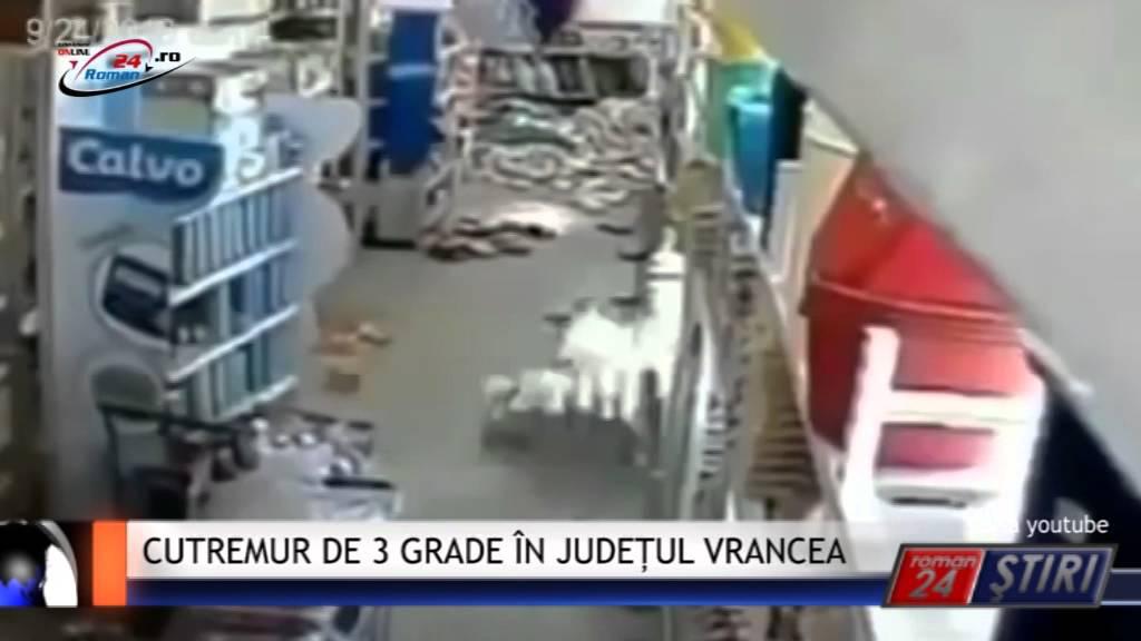 CUTREMUR DE 3 GRADE ÎN JUDEȚUL VRANCEA