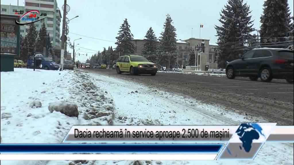 Dacia recheamă în service aproape 2.500 de mașini