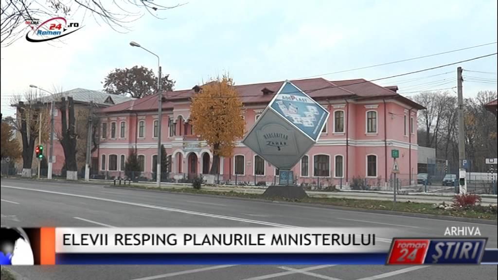ELEVII RESPING PLANURILE MINISTERULUI