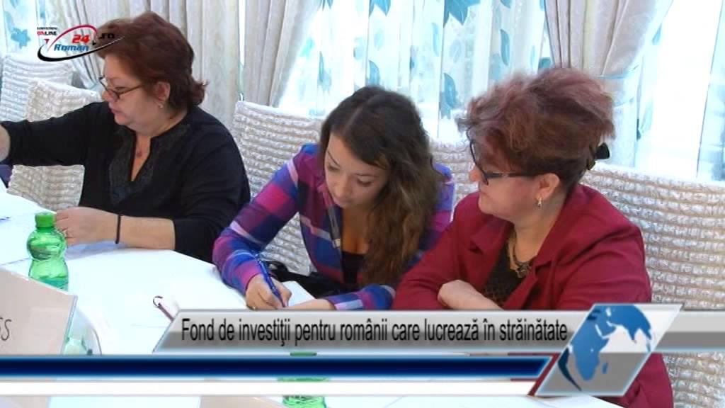 Fond de investiţii pentru românii care lucrează în străinătate
