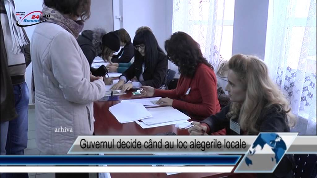 Guvernul decide când au loc alegerile locale