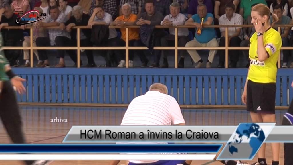 HCM Roman a învins la Craiova