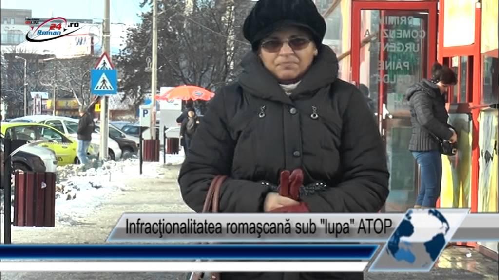 Infracţionalitatea romaşcană sub lupa ATOP