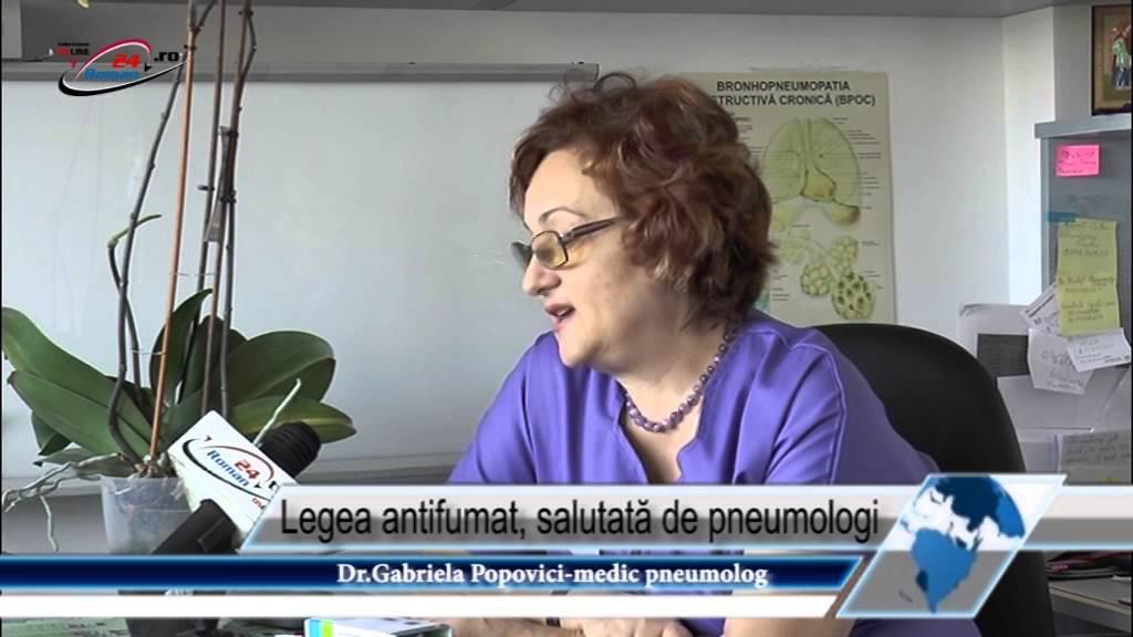 Legea antifumat, salutată de pneumologi