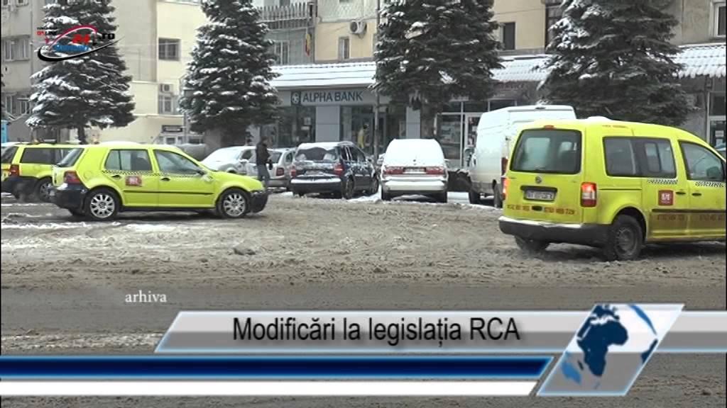 Modificări la legislația RCA