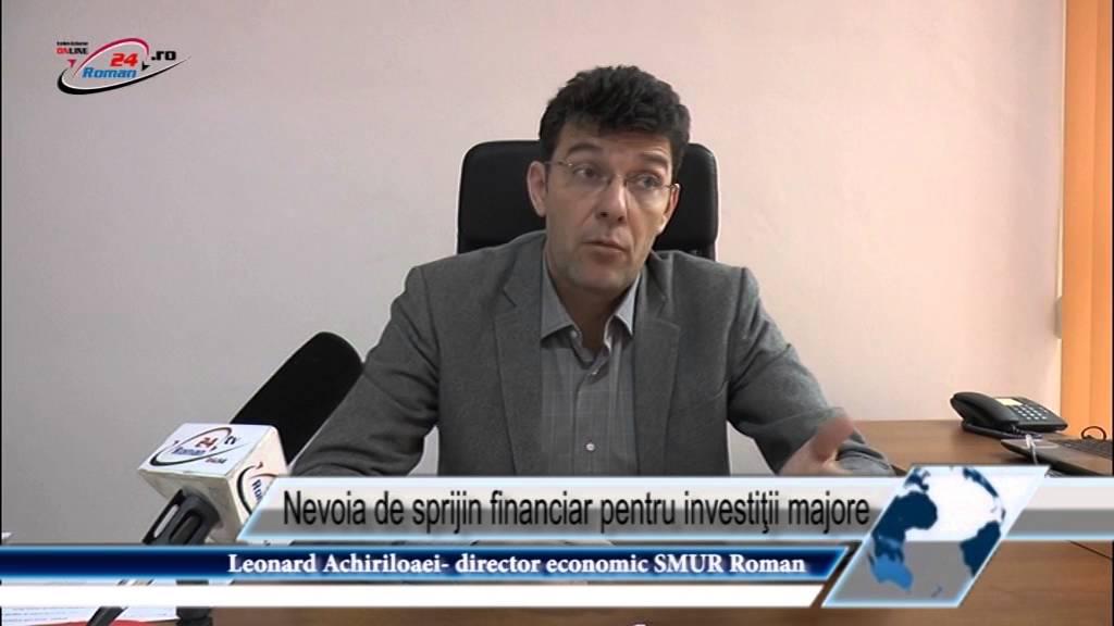 Nevoia de sprijin financiar pentru investiţii majore