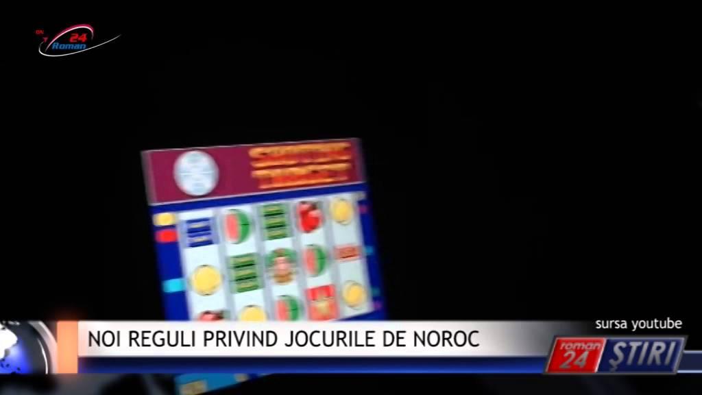NOI REGULI PRIVIND JOCURILE DE NOROC