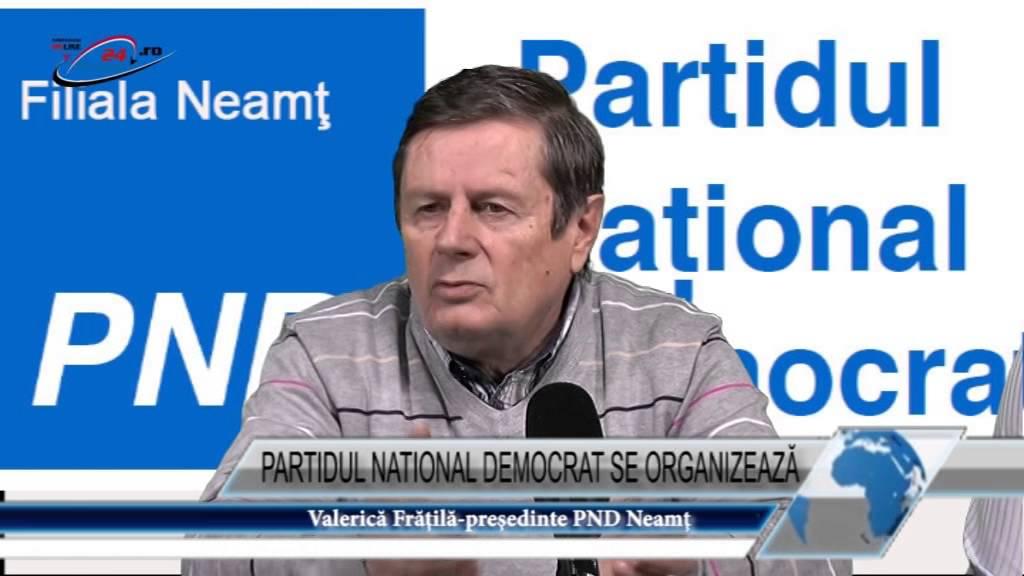 PARTIDUL NATIONAL DEMOCRAT SE ORGANIZEAZĂ
